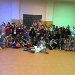 MOVE AROUND DANCE CAMP / pobytový