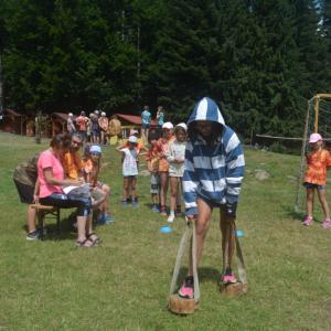 Prázdniny naruby - tábor Rajnochovice 2021