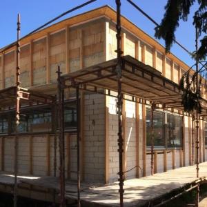 Výstavba nové budovy CVČ 2017-2019